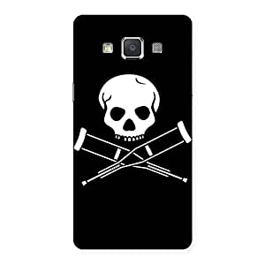 Delighted Danger Black Back Case Cover for Galaxy Grand 3