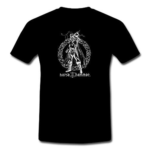 Norse Hammer -  T-shirt - Uomo nero M