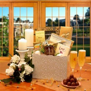 Amazon.com : Happy Ever After Wedding Gift Basket : Brownies : Grocery ...
