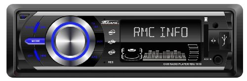 RDU 1610 Deckless RDS-Autoradio mit MP3,USB,SD/MMC,4x45Watt