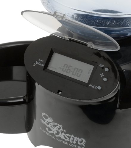 Aspenpet Le Bistro Electronic Portion Control Automatic Pet Feeder - 2.25kg/5lb Capacity