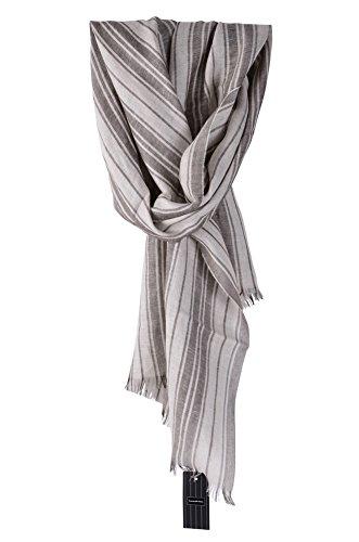 ermenegildo-zegna-sciarpa-marrone-lino-cachemire-seta-190-cm-x-54-cm