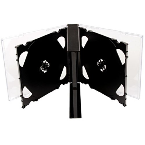four-square-media-1-x-cd-dvd-6-way-jewel-cases-25mm-for-6-disc-with-black-tray-pack-of-1