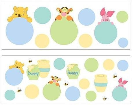 Disney Pooh and Friends Wall Decals - 1