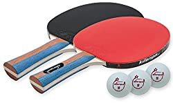 Killerspin Jet Set 2-pack Table Tennis Racket Set