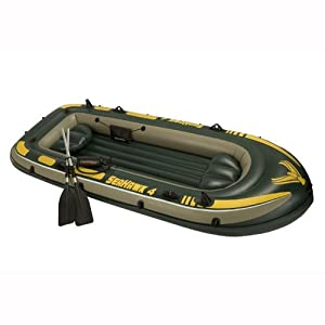 Intex Sehawk 4 Boat Set by Intex