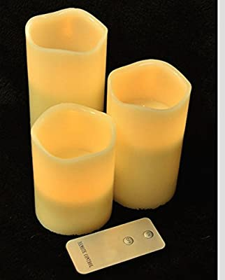 White Light Design Flameless LED Candle