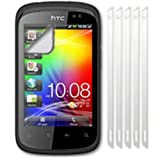 Screen Protector LCD Guard For HTC Explorer A310e / Pack of Five