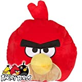 ANGRY BIRDS CUSHION - RED ANGRY BIRD MICROBEAD CUSHION - 12