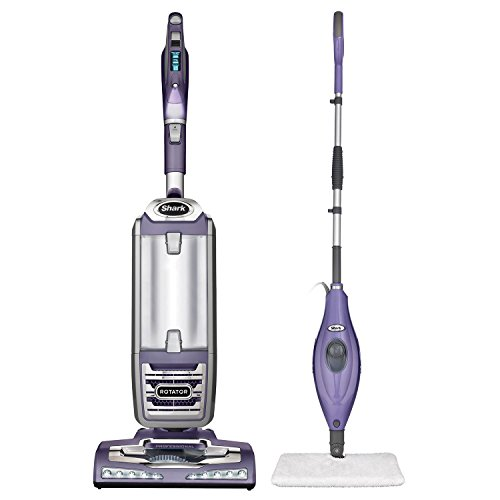 Shark NV760 Rotator Powered Lift-Away Upright Vacuum Cleaner + Steam Pocket Mop (Shark Rotator Vacuum Caddy compare prices)