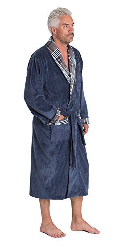 British Luxury Men's Bamboo Cotton dressing gown/bathrobe - Super SOFT