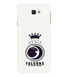 EPICCASE EYRIE Falcons Mobile Back Case Cover For Samsung Galaxy J7 Prime (Designer Case)