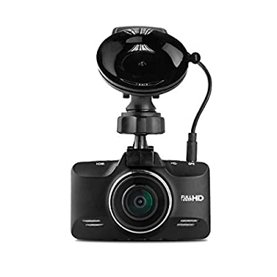 Black Box G98S GPS Dash Camera - Super HD Wide Angle Zoom Car DVR - Zinc Alloy Body