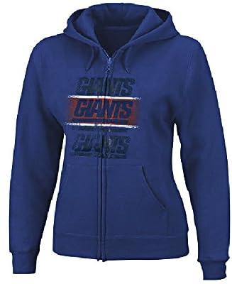 New York Giants Women's Football Classic IV Full-Zip Hooded Sweatshirt by VF