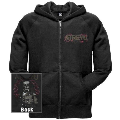 Old Glory Mens Atreyu - Memorium Zip Hoodie - Small Black