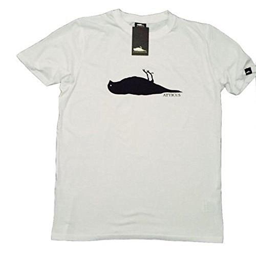 ATTICUS corvo LOGO da uomo con LOGO ufficiale T-Shirt + ufficiale ONE dimensioni (OS) berretto