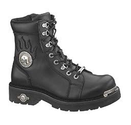 Harley-Davidson Men\'s Diversion Boot,Black,9.5 M