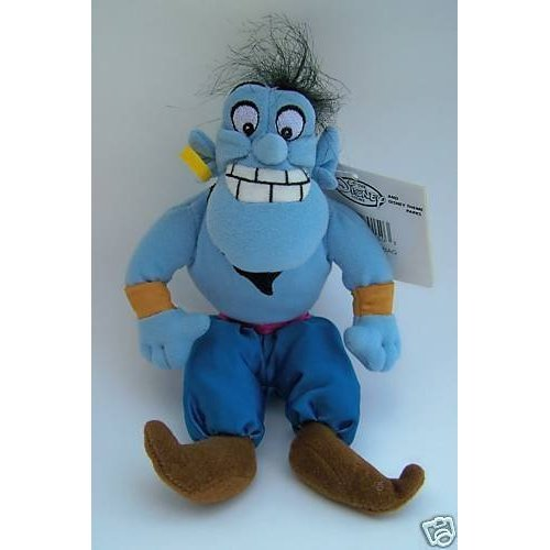"Disney's Aladdin Genie Plush Bean Bag (7"") - 1"