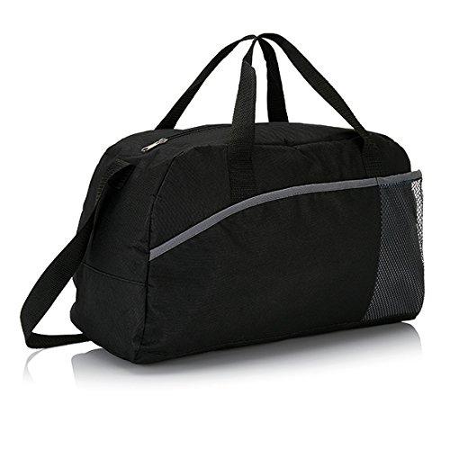 XD-Borsone da Sport, grande formato, 44 cm, 30 L, colore: nero