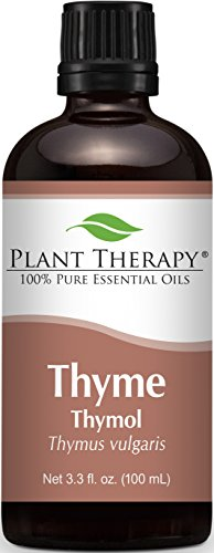 Thyme (red) Essential Oil. 100 ml (3.3 oz). 100% Pure, Undiluted, Therapeutic Grade.