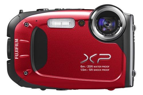 FUJIFILM デジタルカメラ XP60R 光学5倍 レッド F FX-XP60R