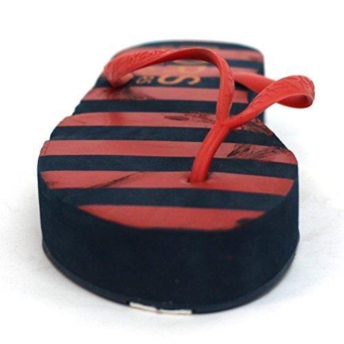 Michael Kors Superb vetrini piattaforma a infradito da donna, misura 4, Rosso (rosso), 36.5