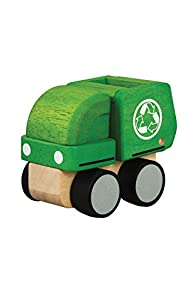 Plan Toys Fair Trade Eco-friendly Mini Garbage Truck