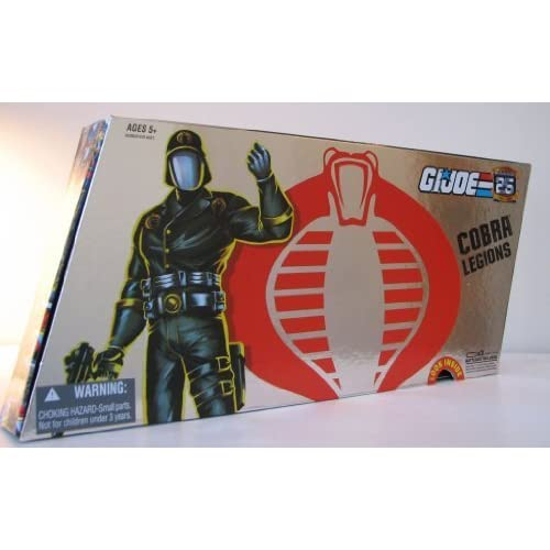 G.I. Joe 25th Anniversary Action Figures Cobra Legions 5 Pack by Hasbro (English Manual) günstig kaufen