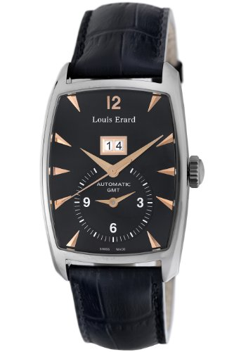 Louis Erard Men's 82210AA02.BDC51 1931 GMT Automatic Watch