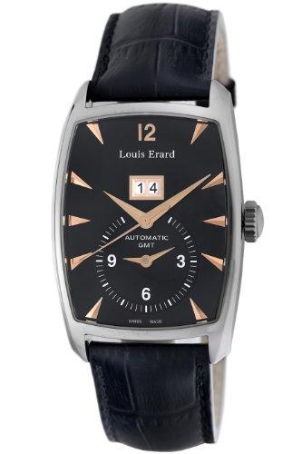 Louis Erard Men's 82210AA02.BDC51 1931 GMT Automatic Watch