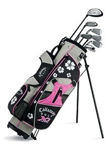 Callaway XJ Junior 11-Piece Girl's Golf Club Set (9-12 Years Old, Right Hand)