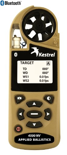 Kestrel 4500nv Shooters Weather Meter (Applied