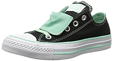 Converse Chuck Taylor All Star Double Tongue Shoes - Black/ Peppermint