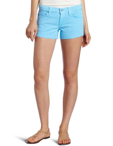 7 For All Mankind Women's Cut-Off Denim Short
