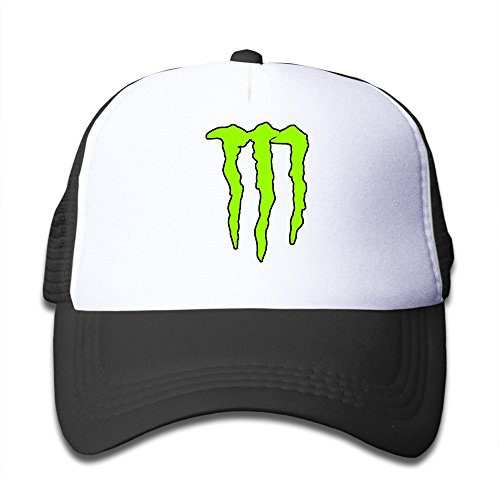 Custom Small-fry Flat Billed Energy Claw Dancing Caps Hat Black (Monster Hats Energy compare prices)