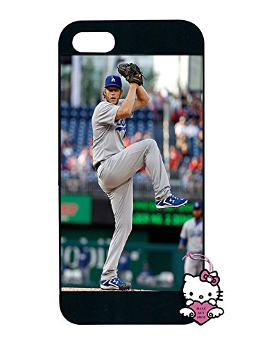 Clayton Kershaw Iphone 5S Case Shockproof Back Case Skin Flexible Slim Iphone 5 Cover - [Non-Slip] (Iphone 5 Clayton Kershaw Case compare prices)
