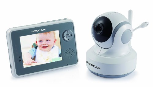 For Sale! Foscam FBM3501 Digital Video Baby Monitor - 2.4 Ghz with Pan/Tilt, Nightvision and Two-Way...