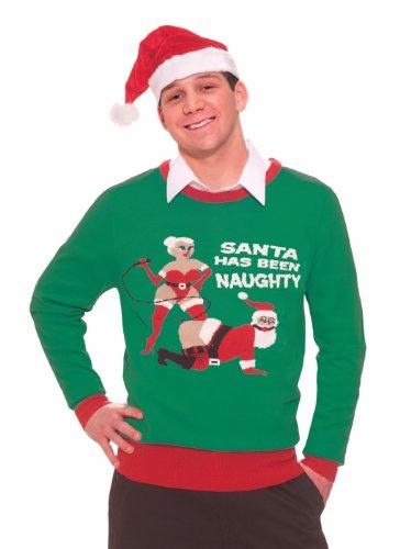 Forum Funny Naughty Adult Bondage Santa Claus Christmas Sweater