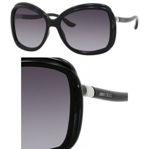 Jimmy Choo Jimmy Choo Margy Sunglasses Shiny Black / Gray Gradient