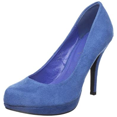 Gomax Women's Fleming-01 High Heel Pump,Blue,10 M US
