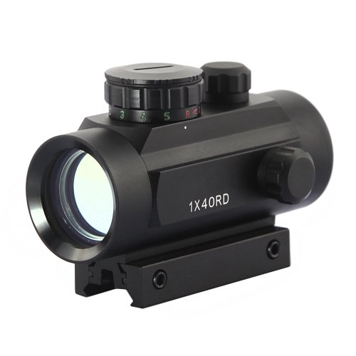 Gadgetzone (Us Seller) 1X30Mm Led Reflex Red Dot Sight Built-In Weaver/Picatinny Mount For Aiming