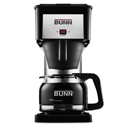 Bunn - 10-Cup Pour-O-Matic Coffee Brewer, Black Bx-B (Dmi Ea