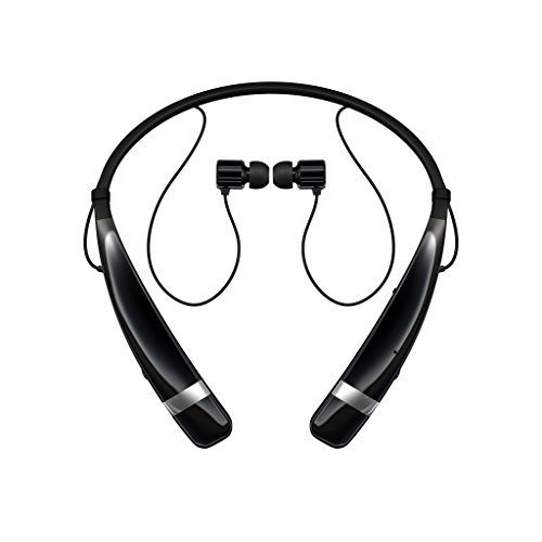 LG Electronics Tone Pro HBS-760 Bluetooth Wireless Stereo Headset - Retail Packaging - Black (Lg Electronics Tone Pro compare prices)