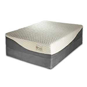 Amazon GO PEDIC 12 Inch Gel Infused Memory Foam
