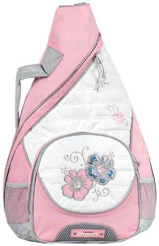 American Princess Flowers Messenger Backpack