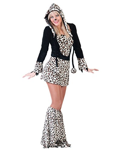 Pierro´s Kostüm Kleid Cat Damenkostüm Frauenkostüm Komplettkostüm Größe 44/46 für Karneval, Fasching, Party