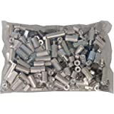 Grab Bag, Spacer, Round & Hex, Aluminum & Steel, 4-40, 6-32, 8-32, 300pcs