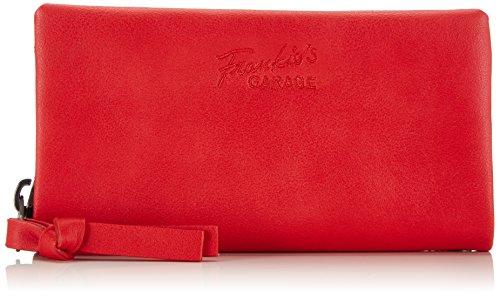 Frankie's Garage Kim, Portafoglio donna, Rosso (Rot (red 040)), 20x11x3 cm (B x H x T)