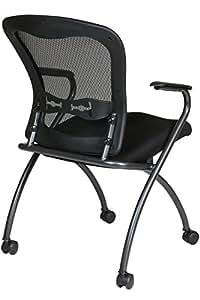 Office Star Pro-Line II ProGrid Back Deluxe Folding Chair