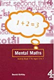 Mental Maths Activity Book